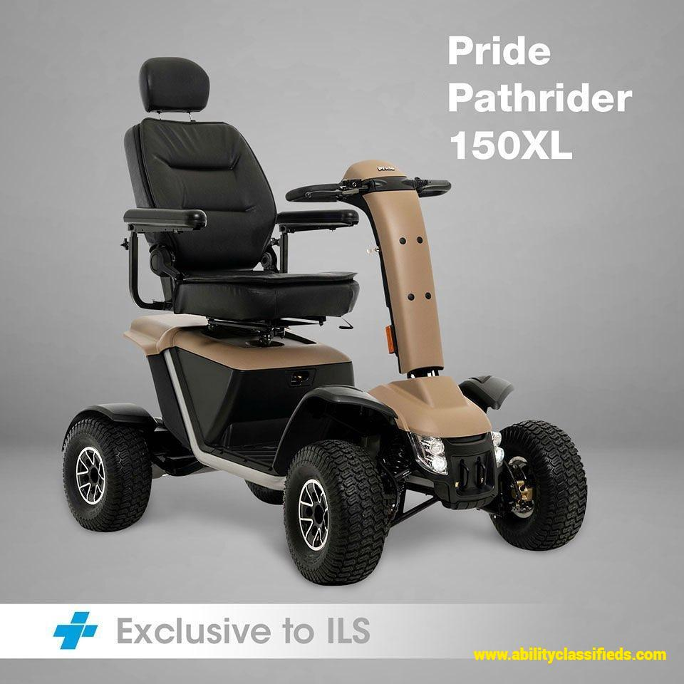 ILS EXCLUSIVE PATHRIDER 150XL Turbo Mobility Scooter