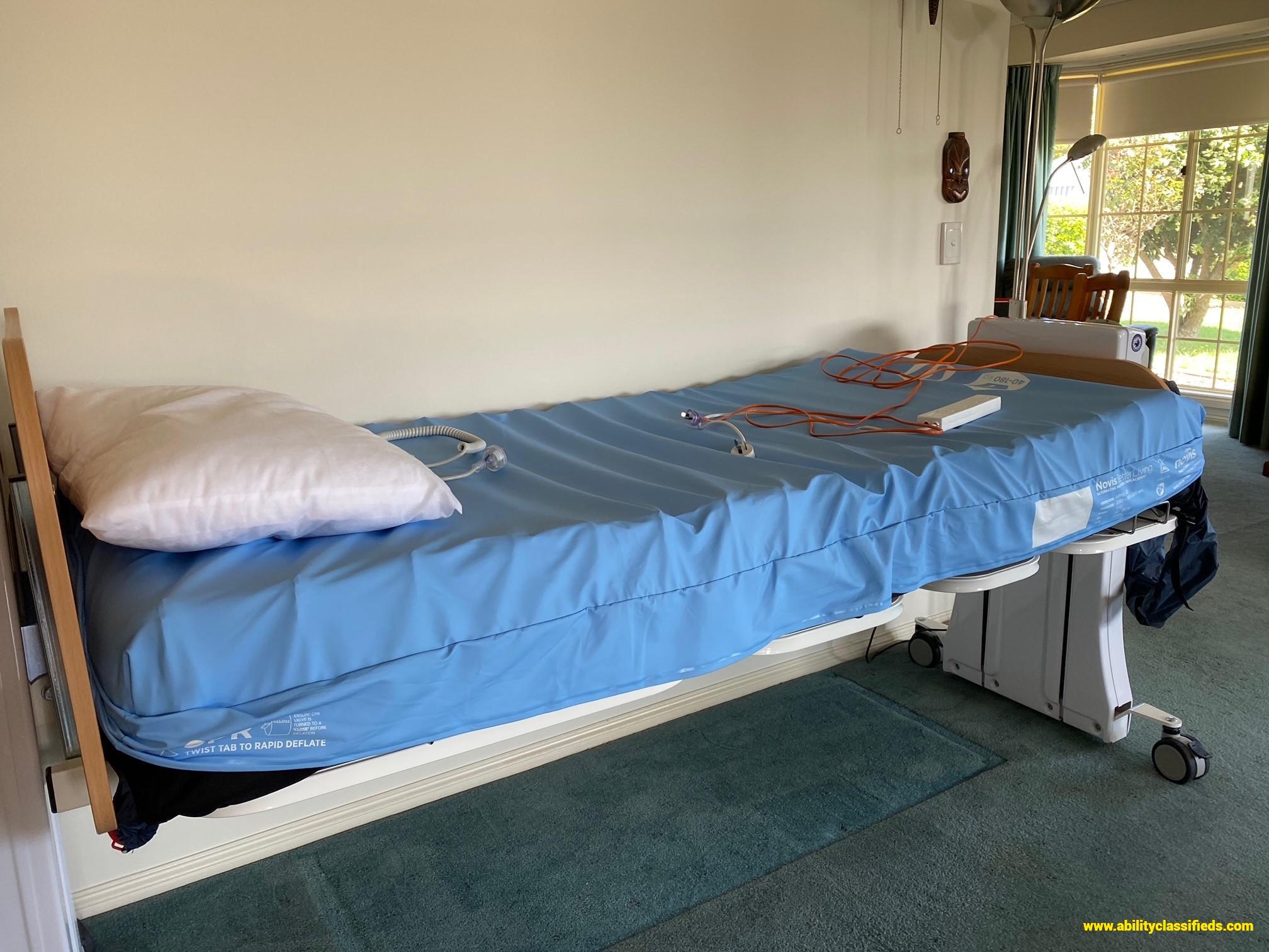 Floorline Hi-Low Electric Bed