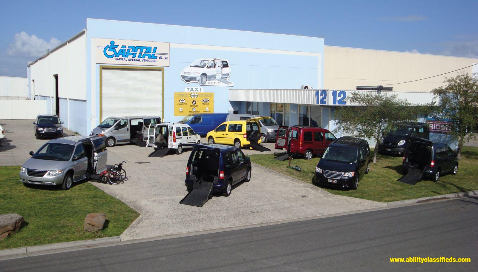 Capital Special Vehicles