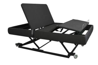 Avante Lo-Lo Fully Adjustable Bed With Hi - Lo Positioning with Side Rails