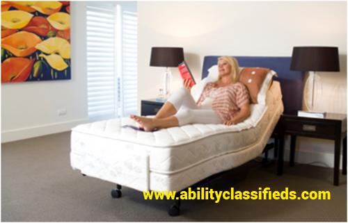 LIBERTY HEALTHCARE ECO-ADJUST ELECTRIC SINGLE BEDS x 2