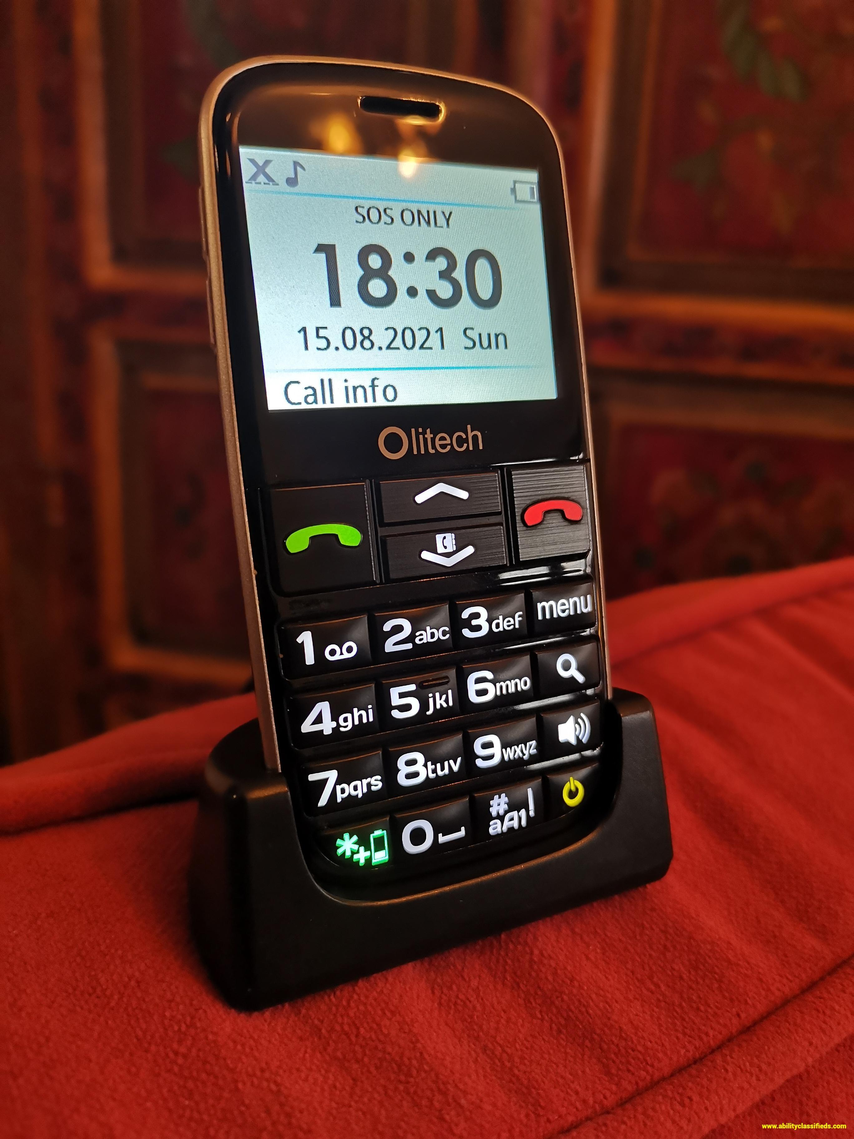 Olitech Easy Mate+ Mobile Phone