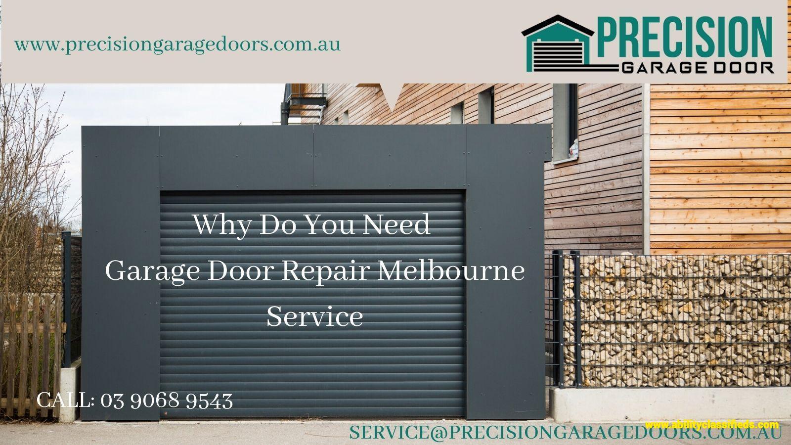 Why Do You Need Garage Door Repair Melbourne Service