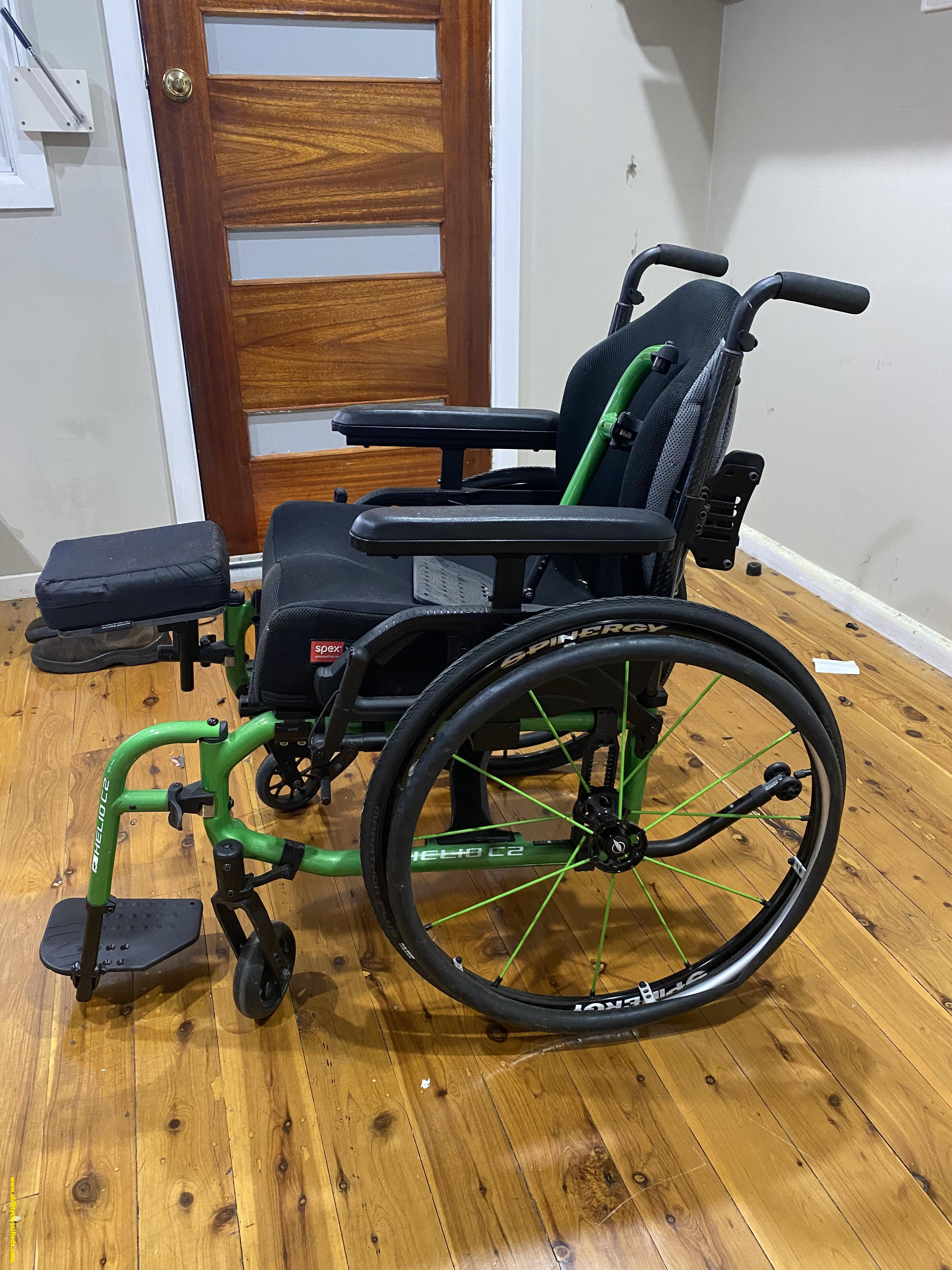 Wheelchair including electric add on