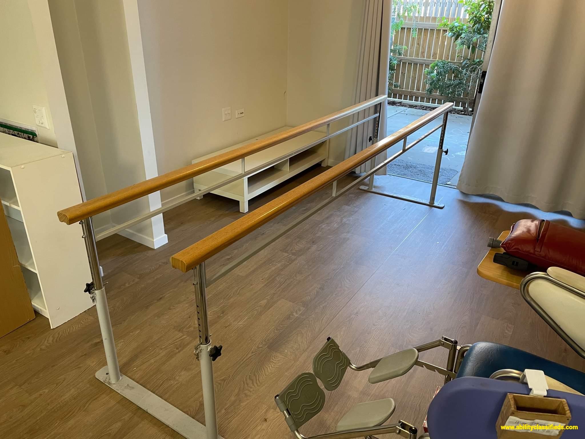 Multiple items, see description. Wheelchair, bed, sara steady...