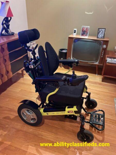 Almost New - E-traveller 180 Ergo Electric Wheelchair