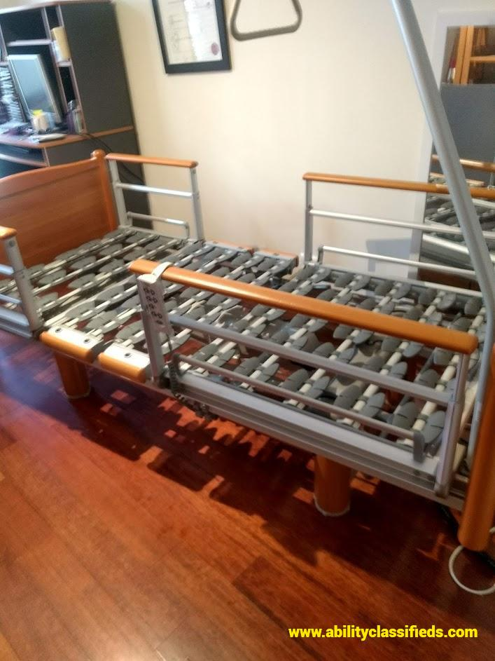 Volker Electric bed and attached monkey bar