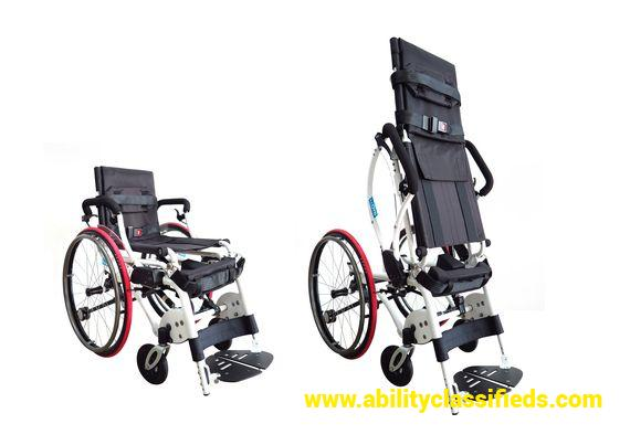 Leo Fully Manual Standing Wheelchair